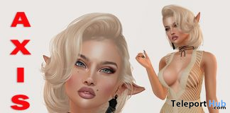 Chris Shape For Lelutka Lily Head 7L Promo by Axis - Teleport Hub - teleporthub.com