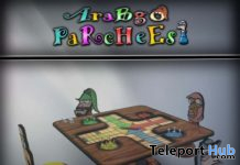 Parcheesi Game Set 80% Off Promo by AraBgO - Teleport Hub - teleporthub.com