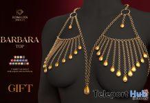 Barbara Chain Top April 2021 Group Gift by Romazin Jewelry - Teleport Hub - teleporthub.com