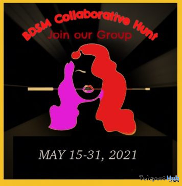 The Giant BDSM Collaborative Hunt May 2021 - Teleport Hub - teleporthub.com