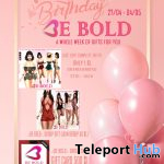 BE BOLD Birthday Week 2021 - Teleport Hub - teleporthub.com