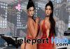 Lisa Beach Swimsuit & Skirt Red Teleport Hub Group Gift by Beauty Code - Teleport Hub - teleporthub.com