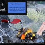 Wearable Campfire Set April 2021 Group Gift by Careless - Teleport Hub - teleporthub.com