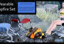 Wearable Campfire Set April 2021 Group Gift by Careless - Teleport Hub - teleporthub.com