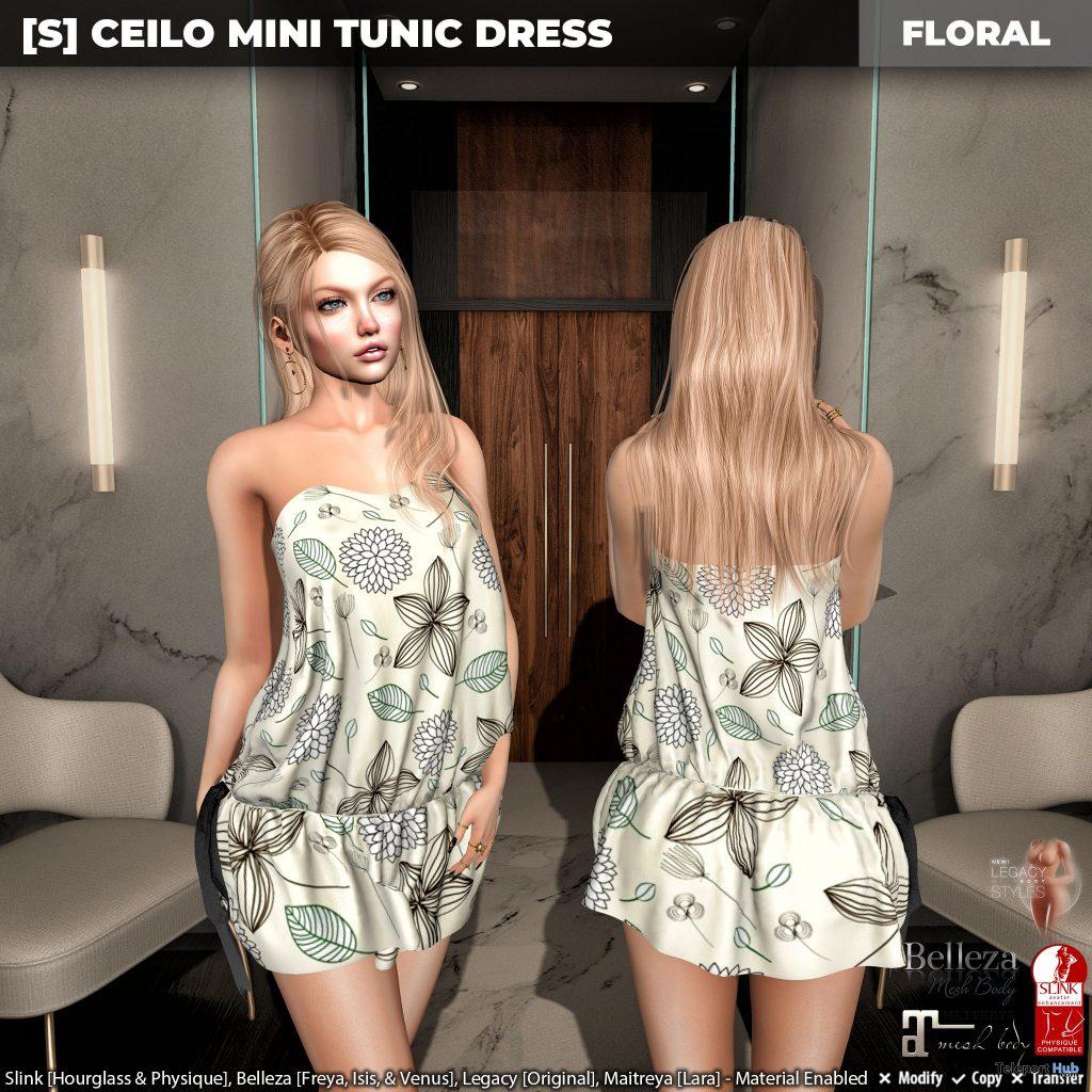 New Release: [S] Ceilo Mini Tunic Dress by [satus Inc] - Teleport Hub - teleporthub.com