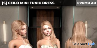 New Release: [S] Ceilo Mini Tunic Dress by [satus Inc] - Teleport Hub - teleporthub.com
