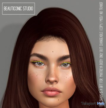 Maggie Shape April 2021 Group Gift by Beauticonic Studio - Teleport Hub - teleporthub.com