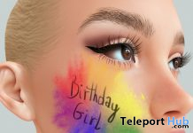 Birthday Girl Tattoo April 2021 Gift by [by Pepe] - Teleport Hub - teleporthub.com