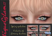 Spring Eyeshadows April 2021 Group Gift by BoutiqueGglam - Teleport Hub - teleporthub.com