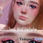 Sugar Heart Eyeshadow April 2021 Group Gift by {SUGARY} - Teleport Hub - teleporthub.com
