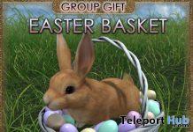Easter Basket April 2021 Group Gift by JIAN - Teleport Hub - teleporthub.com