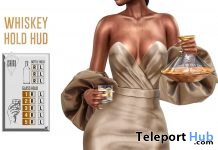 Whiskey Hold Bento Animation HUD April 2021 Group Gift by ISHIKU - Teleport Hub - teleporthub.com