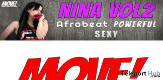 New Release: Nina Vol 2 Bento Dance Pack by MOVE! Animations Cologne - Teleport Hub - teleporthub.com