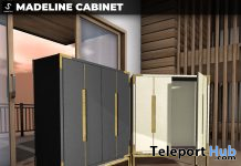 New Release: Madeline Cabinet by [satus Inc] - Teleport Hub - teleporthub.com