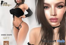 Sindee Shape For Lelutka Evo Lilly Head 1L Promo Gift by LACEY BABES - Teleport Hub - teleporthub.com