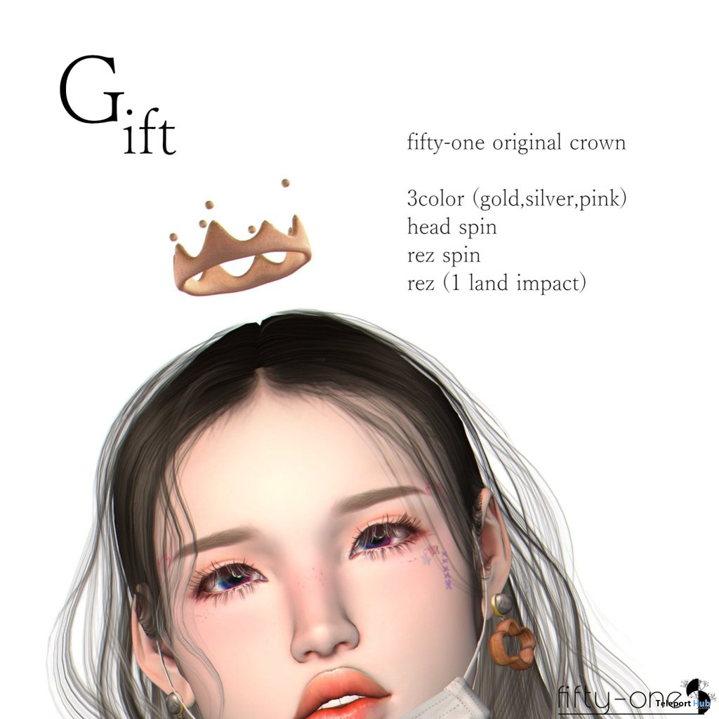Crown Pack May 2021 Gift by fifty-one - Teleport Hub - teleporthub.com