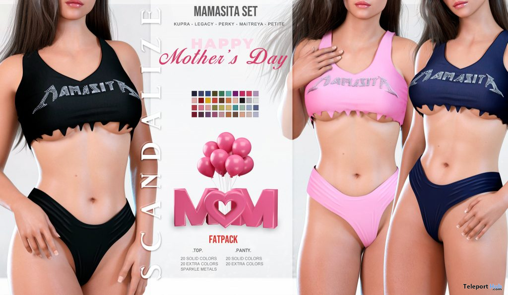 Mamasita Set Mother's Day 2021 Group Gift by SCANDALIZE - Teleport Hub - teleporthub.com