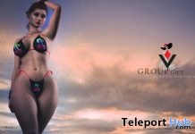 Sexy Noa Bikini May 2021 Group Gift by Virtual Diva Couture - Teleport Hub - teleporthub.com