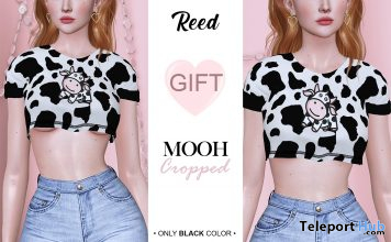 MOOH Crop Top Saki Event May 2021 Gift by REED - Teleport Hub - teleporthub.com
