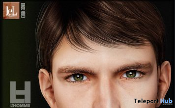 Stan Skin Tone 03 For Lelutka Evo Heads L'HOMME Magazine May 2021 Group Gift by VENDETTA - Teleport Hub - teleporthub.com