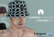 Hats L'HOMME Magazine May 2021 Group Gift by CHEERNO - Teleport Hub - teleporthub.com