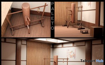 Training Room L'HOMME Magazine May 2021 Group Gift by PALETO - Teleport Hub - teleporthub.com