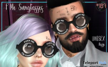 F Me Sunglasses May 2021 Group Gift by Boutique #187# - Teleport Hub - teleporthub.com