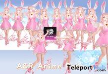 Anime Pose Pack May 2021 Gift by A&R Haven - Teleport Hub - teleporthub.com