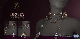 Bruta Necklace Fatpack Teleport Hub Group Gift by Romazin Jewelry - Teleport Hub - teleporthub.com