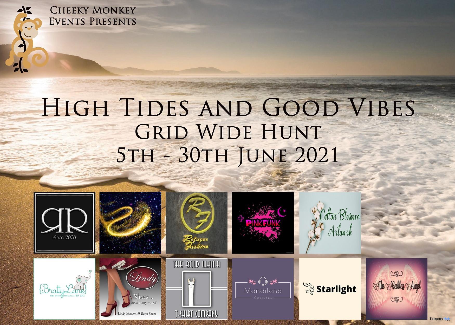 High Tides & Good Vibes Grid Wide Hunt 2021 - Teleport Hub - teleporthub.com