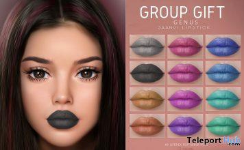 Saanvi Lipsticks For Genus Mesh Head May 2021 Group Gift by SAMIA - Teleport Hub - teleporthub.com