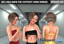New Release: [S] Lisa Side-Tie Cutout Mini Dress by [satus Inc] - Teleport Hub - teleporthub.com