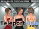 New Release: [S] Lisa Side-Tie Cutout Mini Dress by [satus Inc] - Teleport Hub - teleporthub.com