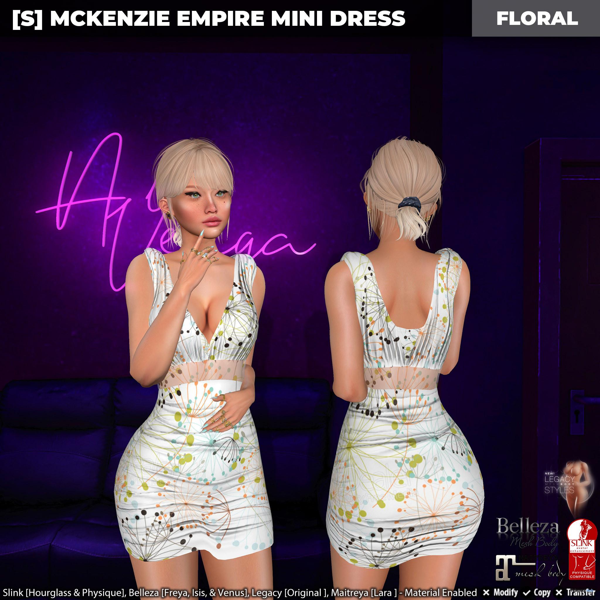 New Release: [S] Mckenzie Empire Mini Dress by [satus Inc] - Teleport Hub - teleporthub.com