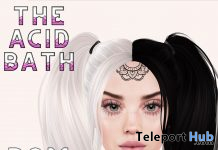 Small Mandala BOM Tattoo May 2021 Group Gift by The Acid Bath - Teleport Hub - teleporthub.com