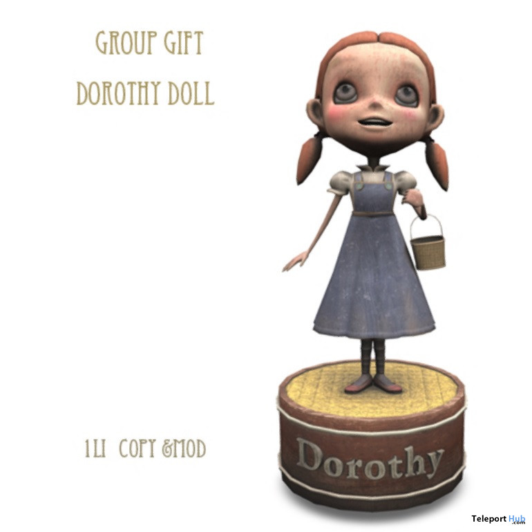 Dorothy Doll May 2021 Group Gift by D-LAB - Teleport Hub - teleporthub.com