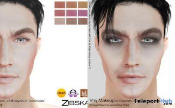 Vrej Contour & Makeup L'HOMME Magazine May 2021 Group Gift by Zibska - Teleport Hub - teleporthub.com