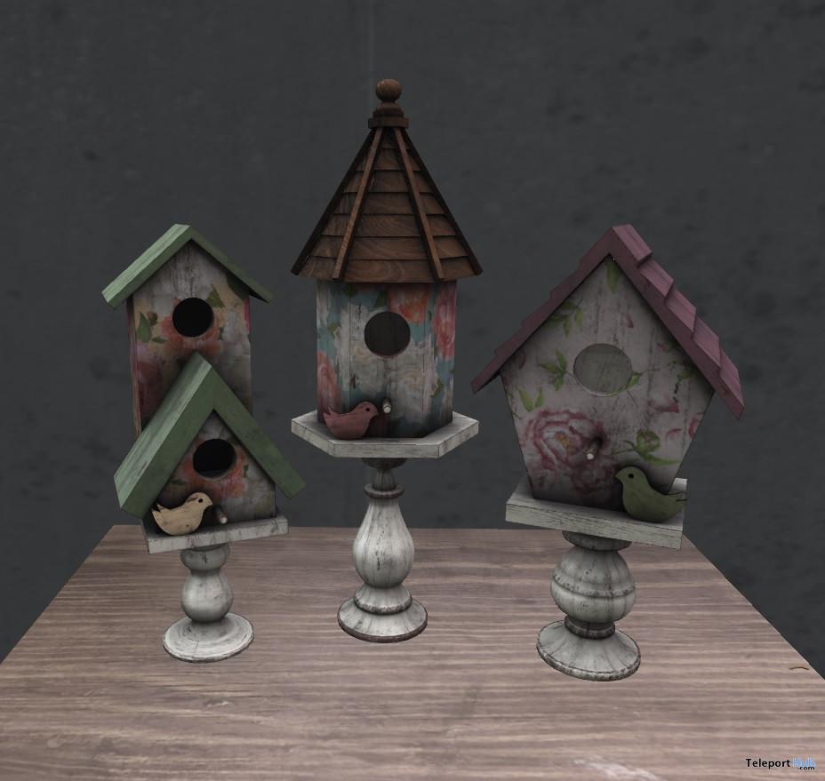 Vintage Birds House May 2021 Group Gift by [InsurreKtion] - Teleport Hub - teleporthub.com