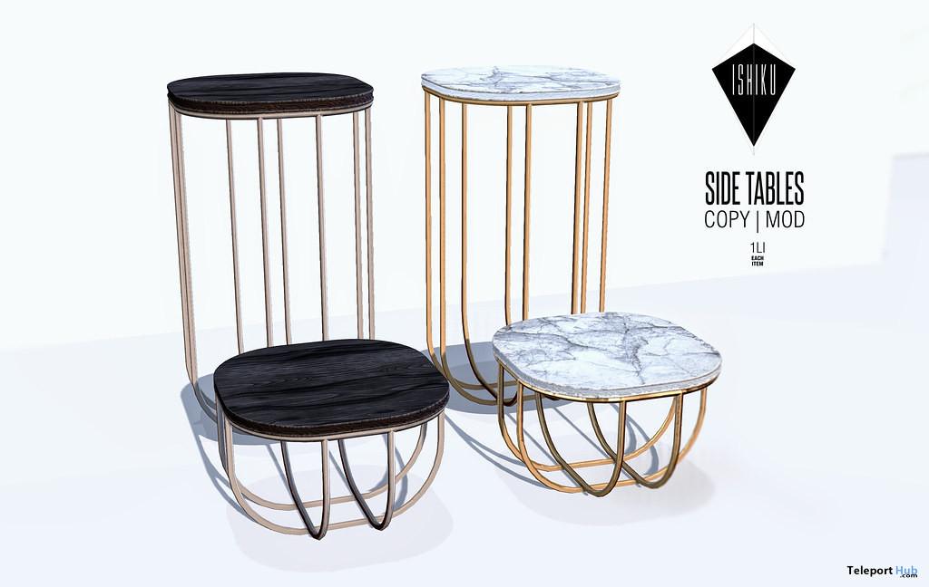 Side Tables May 2021 Group Gift by ISHIKU - Teleport Hub - teleporthub.com