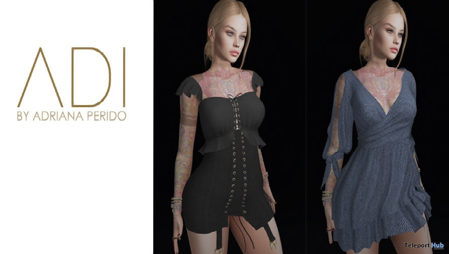 New Release: Juliet Dress, Maria Top & Skirts by ADI @ Sense Event May 2021 - Teleport Hub - teleporthub.com