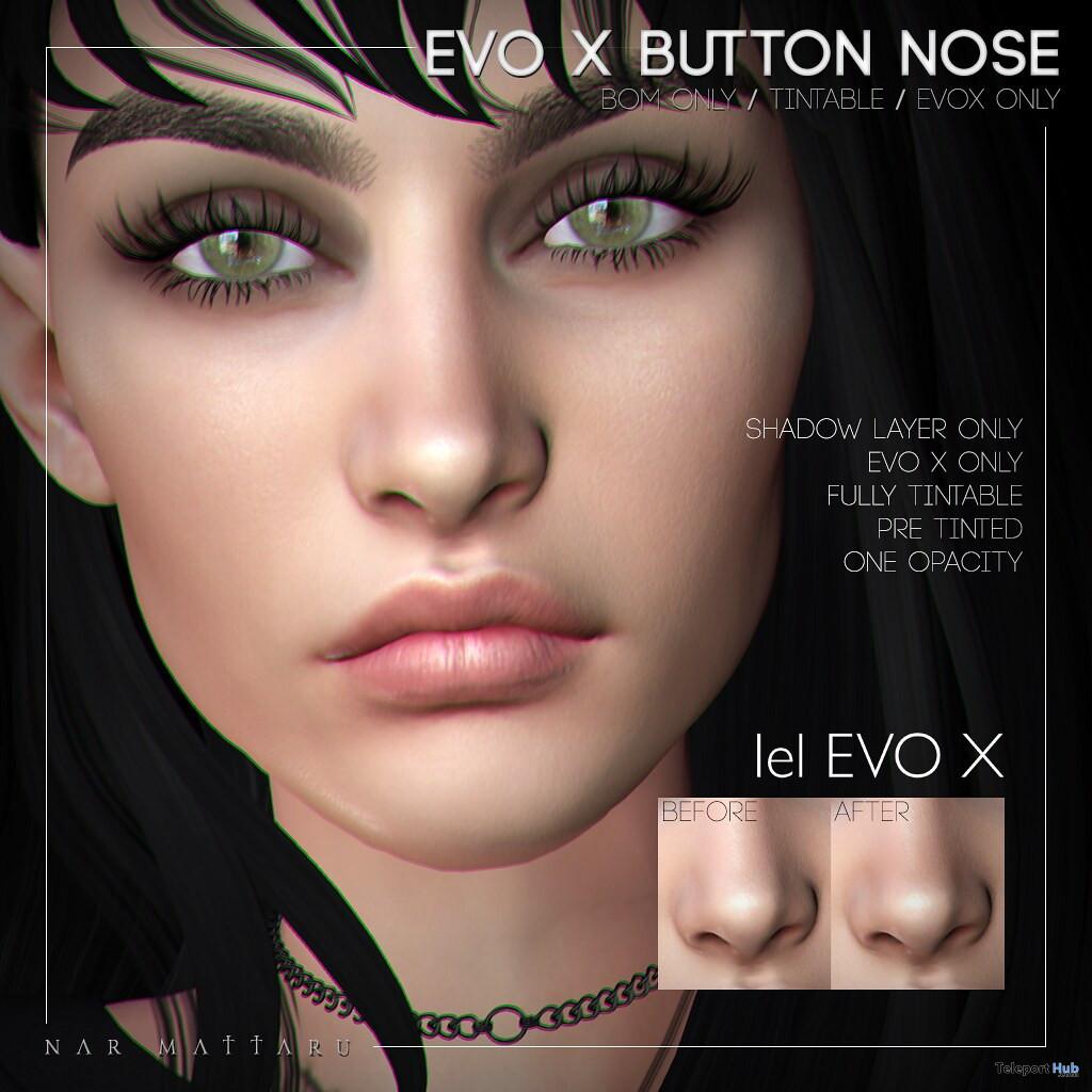Evo X Button Nose 10L Promo by Nar Mattaru - Teleport Hub - teleporthub.com