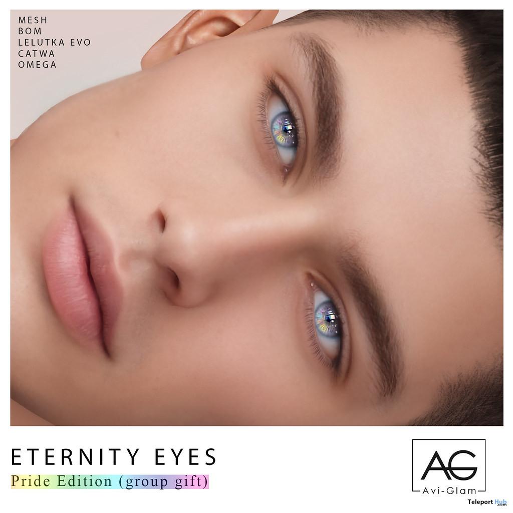 Eternity Eyes Pride Edition June 2021 Group Gift by Avi-Glam - Teleport Hub - teleporthub.com