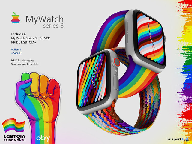 MyWatch Series 6 Pride Edition 1L Promo Gift by dby studio - Teleport Hub - teleporthub.com