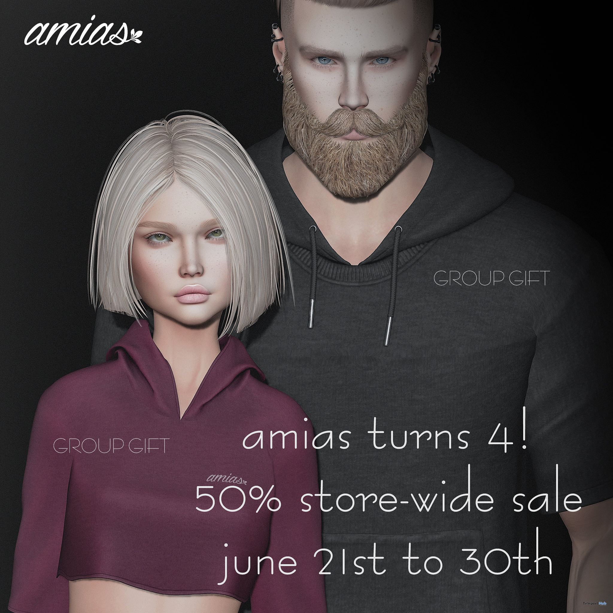 Unisex Sweaters June 2021 Group Gift by amias - Teleport Hub - teleporthub.com