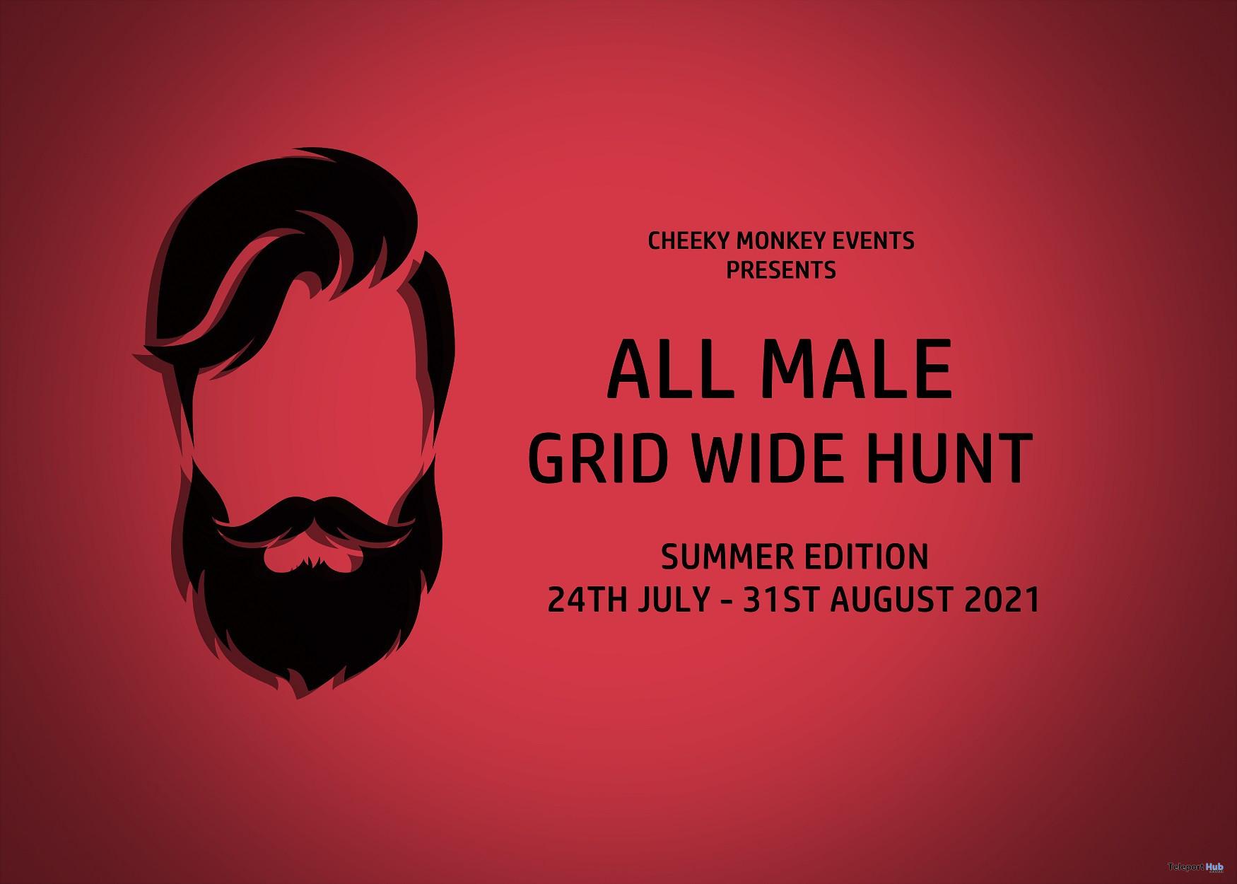 All Male Hunt: Summer Edition 2021 - Teleport Hub - teleporthub.com