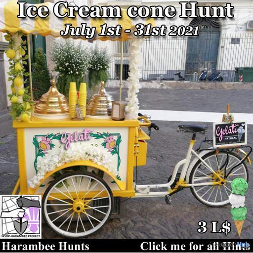 Ice Cream Cone Hunt 2021 - Teleport Hub - teleporthub.com