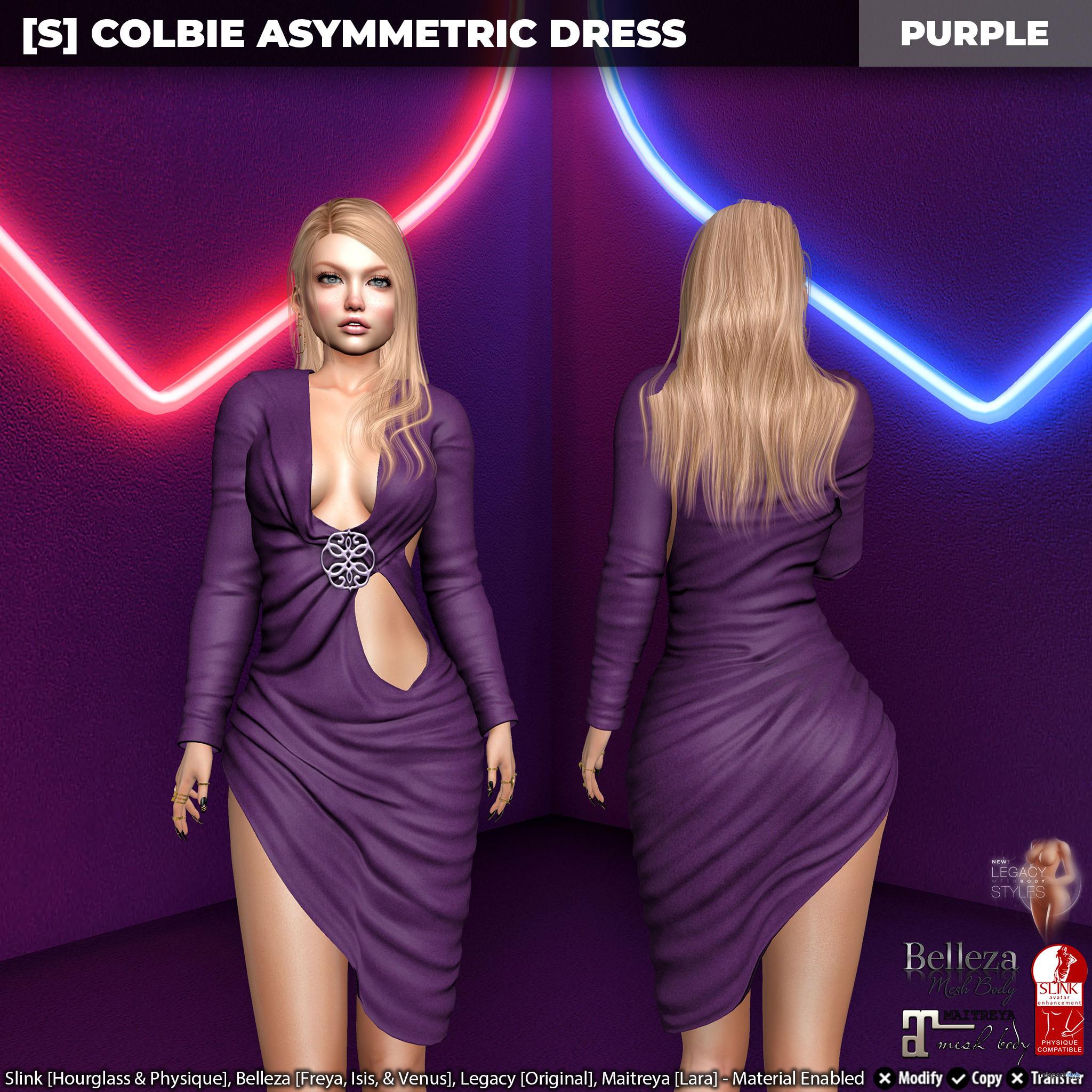 New Release: [S] Colbie Asymmetric Dress by [satus Inc] - Teleport Hub - teleporthub.com