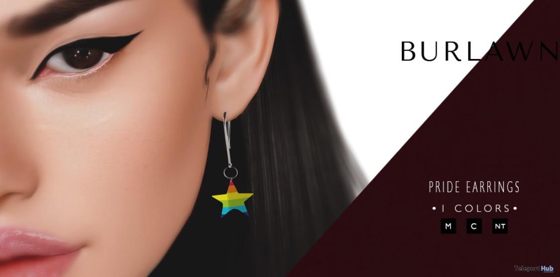 Pride Earrings 1L Promo Gift by Burlawn - Teleport Hub - teleporthub.com