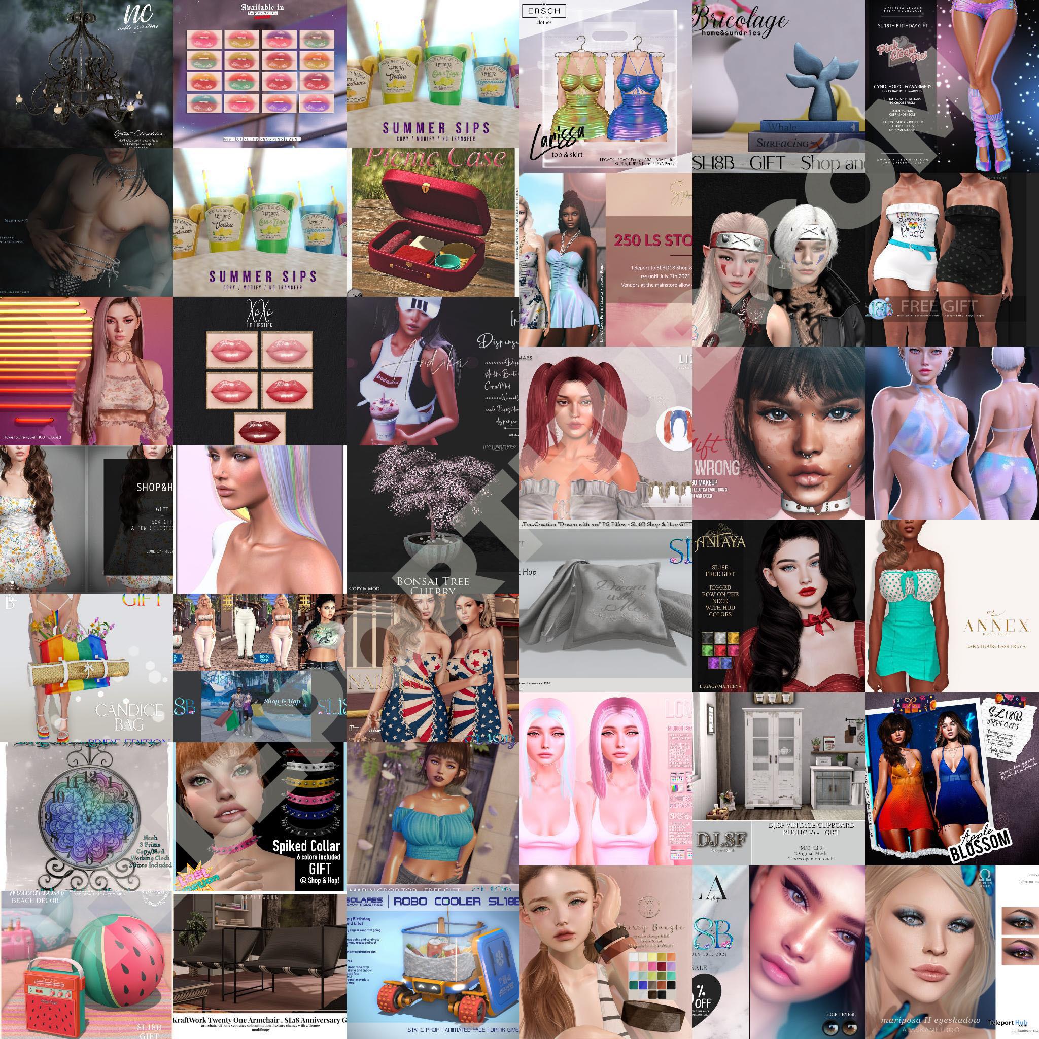 Several Gifts @ SL18B Shop & Hop Event June 2021 by Various Designers - Teleport Hub - teleporthub.com