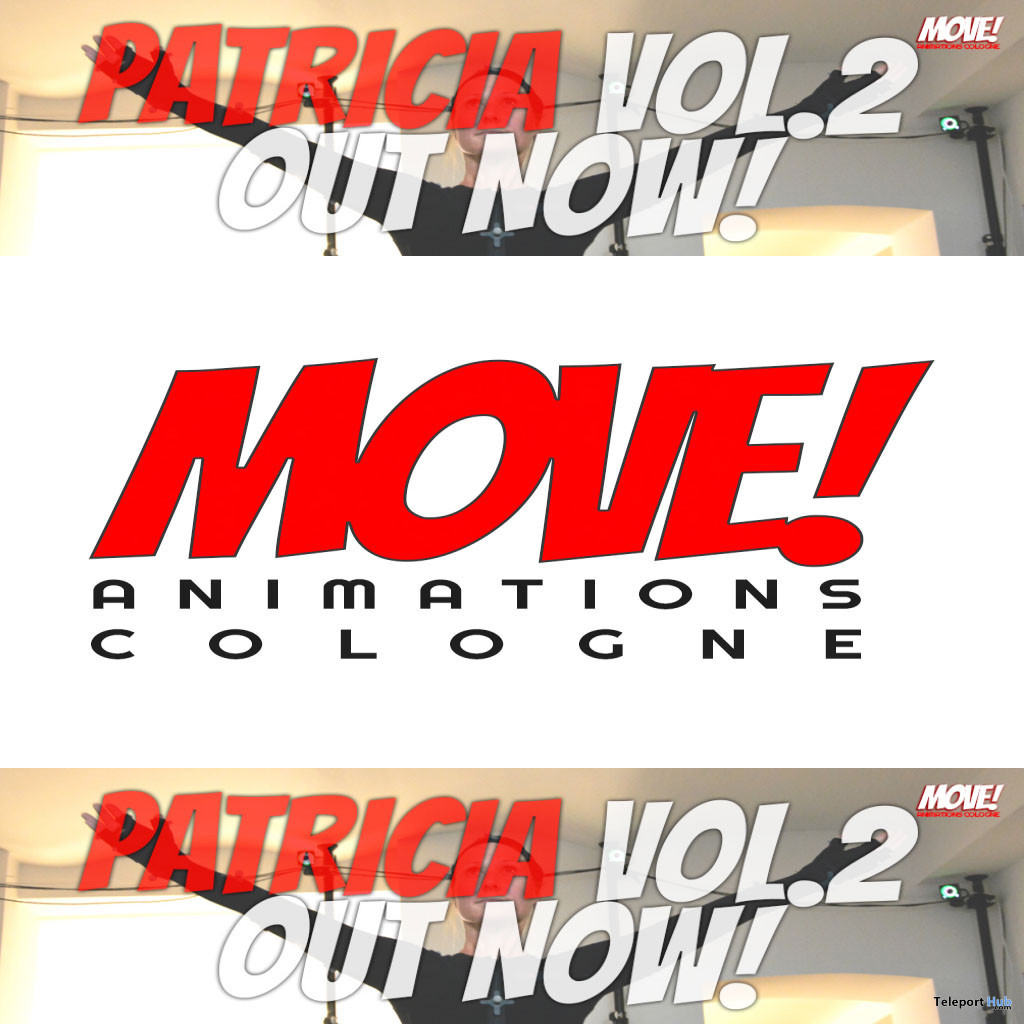 New Release: Patricia Vol 2 Bento Dance Pack by MOVE! Animations Cologne - Teleport Hub - teleporthub.com